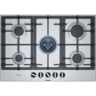 Bosch Serie 6 PCQ7A5B90 Incasso Gas Acciaio inossidabile piano cottura