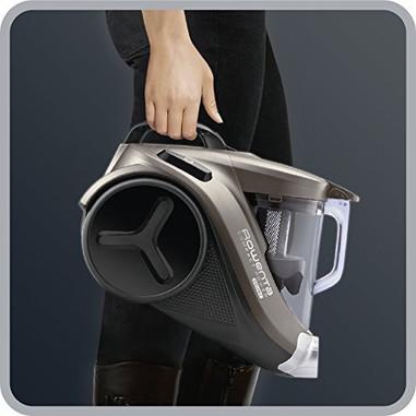 Rowenta RO3786EA Compact Power Cyclonic Aspirapolvere Ciclonico Compatto, senza Sacco, Animal Care