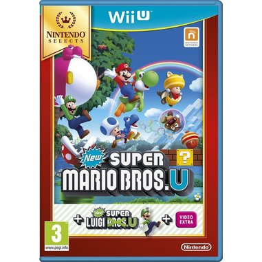 New Super Mario Bros. U + New Super Luigi U - Selects Wii U