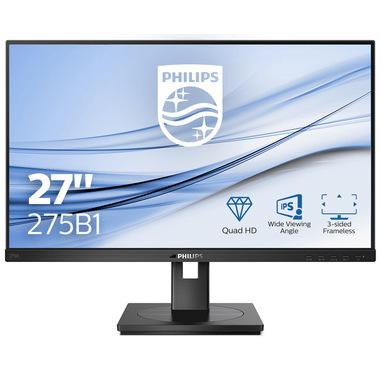 "Philips B Line 275B1/00 LED display 68,6 cm (27"") 2560 x 1440 Pixel 2K Ultra HD LCD Nero"