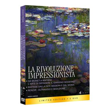 La Rivoluzione Impressionista (3 DVD)