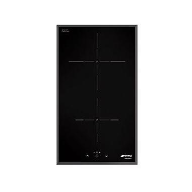 Smeg SI5322B piano cottura Nero Incorporato A induzione 2 Fornello(i)