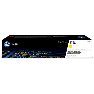 HP Cartuccia toner giallo per stampante laser originale 117A