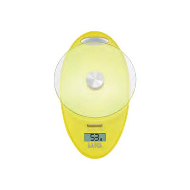 Laica KS1005 Bilancia da cucina elettronica Giallo