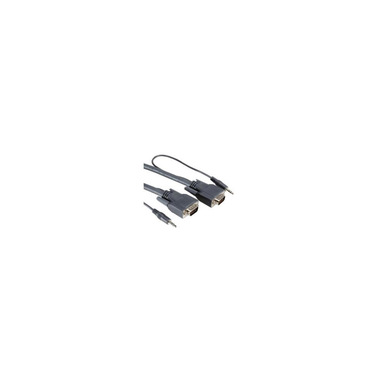 Nilox NX090204107 cavo VGA 6 m VGA (D-Sub) Nero