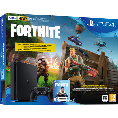 Sony PS4 500GB Chassis E + Fortnite