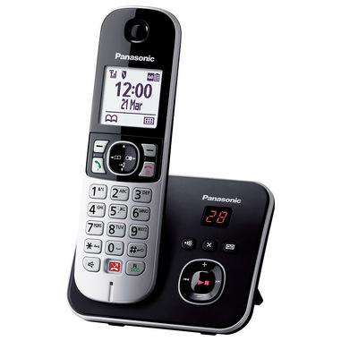 Panasonic KX-TG6861 Telefono DECT Identificatore di chiamata Nero, Grigio