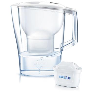 Brita Caraffa filtrante per acqua Aluna da 2,4l - 1 filtro MAXTRA+ incluso