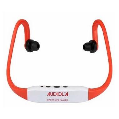 Audiola SDB-4850 Sport MP3 4GB Nero, Rosso, Bianco