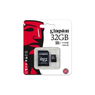 Kingston Technology microSDHC Class 10 UHS-I Card 32GB 32GB MicroSDHC UHS-I Classe 10 memoria flash