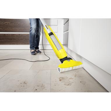 Kärcher FC 5 lavasciuga pavimenti Senza sacchetto Nero, Argento, Giallo 460 W