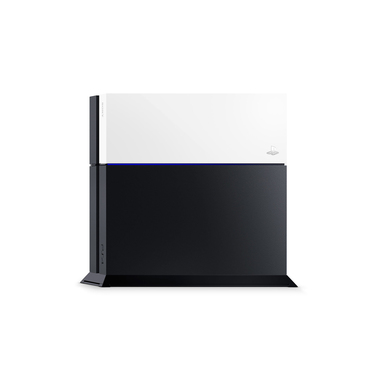 Sony PS4 Cover Personalizzate Glacier White