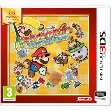 The Paper Mario: Sticker Star, 3DS Selects