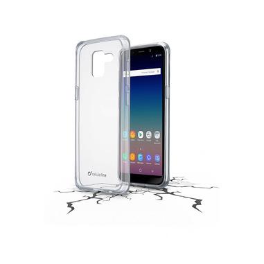 Cellularline Clear Duo - Galaxy J6 (2018) Accoppiata ad alta protezione Trasparente