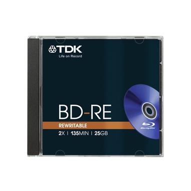 TDK BD-RE 25GB Blu-ray riscrivibile (BD-RE) - confezione da 1