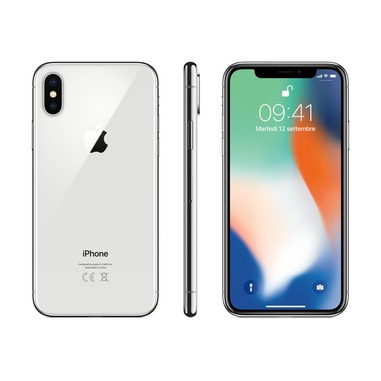 Apple Iphone X 256gb Argento Iphone In Offerta Su Unieuro