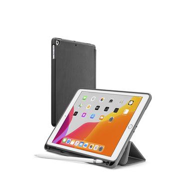 """Cellularline Folio Pen - iPad 10.2"""" (2019) Custodia ultra-protettiva con alloggiamento per pennino Nero"""