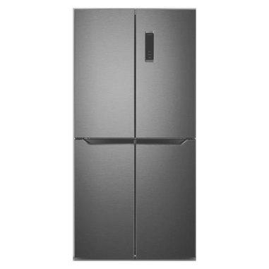 Electroline 4DE-459HBME frigorifero side-by-side Libera installazione Black inox 401 L A+