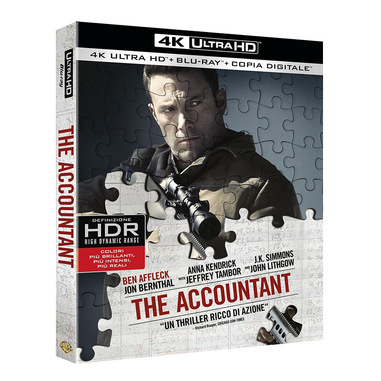 Warner Bros The Accountant Blu-ray 2D Inglese