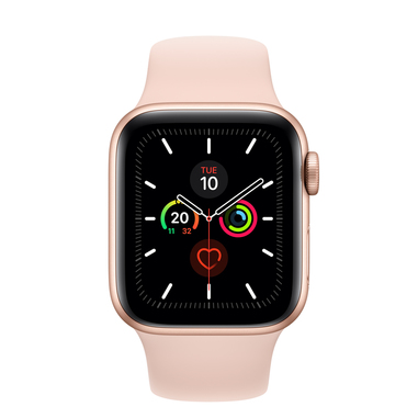 Apple Watch Series 5 40mm smartwatch Oro OLED GPS (satellitare)