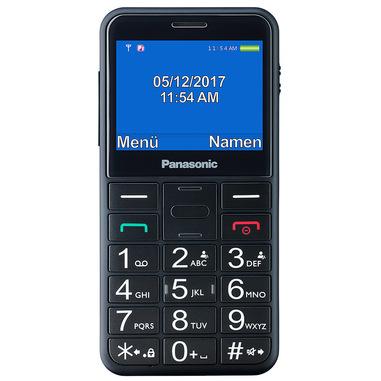 """Panasonic KX-TU150 6,1 cm (2.4"""") 102 g Nero Telefono cellulare basico"""