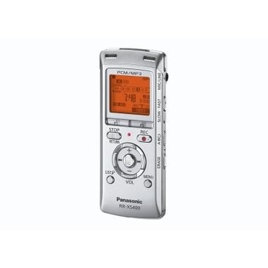 Panasonic RR-XS400 Memoria interna e scheda di memoria Bianco dittafono