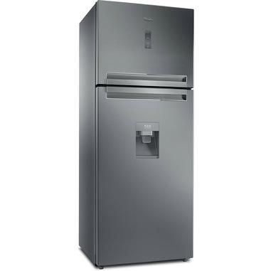Whirlpool T TNF 8211 OX AQUA 1 frigorifero con congelatore Libera installazione 417 L F Grigio
