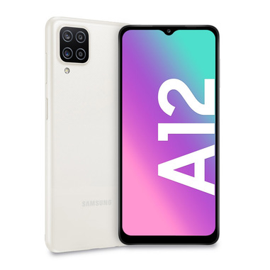 "Samsung Galaxy A12 SM-A125FZWVEUE smartphone 16,5 cm (6.5"") Doppia SIM Android 10.0 4G USB tipo-C 4 GB 64 GB 5000 mAh Bianco"