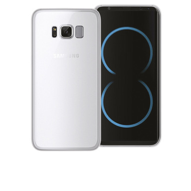 Phonix Cover Gel Protection Plus per Samsung Galaxy S8 Plus - Trasparente
