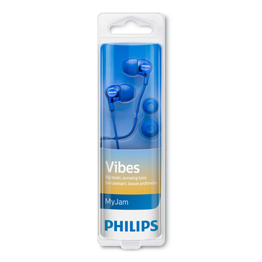 Philips auricolari in-ear blu
