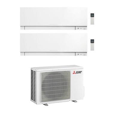 Mitsubishi Electric MXZ-2F42VF + MSZ-EF25VGKW + MSZ-EF35VGKW Climatizzatore split system Bianco