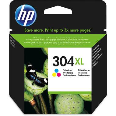 HP Cartuccia inchiostro originale tricromia 304XL