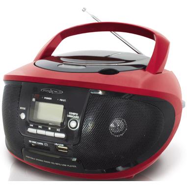 Irradio CDKU-55C Nero, Rosso