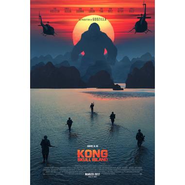 Warner Bros Kong: Skull Island Blu-ray