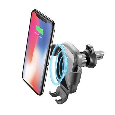 Cellularline Adapter for Wireless Charger - Wireless Charger Adattatore 18W per caricabatterie wireless Nero