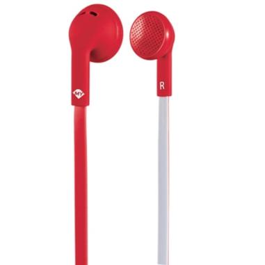 MySound Auricolare on ear mic. Speak flat, bianco-ross