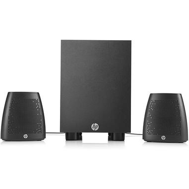 HP 400 set di altoparlanti 2.1 canali 8 W Nero