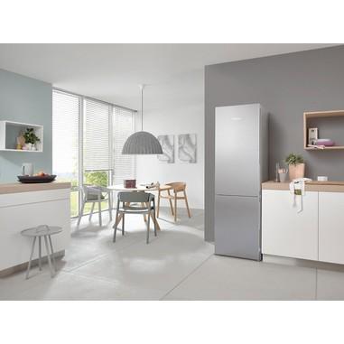 Miele 38281331 Libera installazione 304L A+++ Acciaio inossidabile frigorifero con congelatore