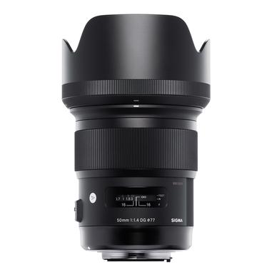 Sigma Art, 50mm F1.4 DG HSM SLR Nero