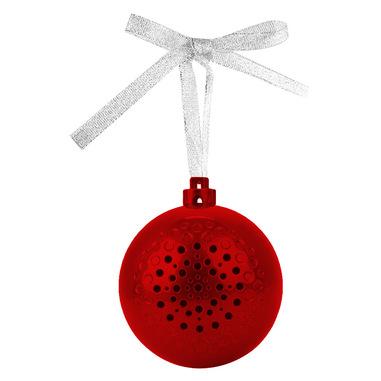 PURO Christmas ball Altoparlante portatile mono Rosso