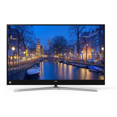 """SABA SA49K65NS TV 124,5 cm (49"""") 4K Ultra HD Smart TV Wi-Fi Nero, Argento"""