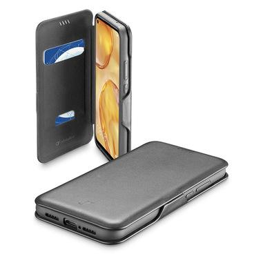 Cellularline Book Clutch - P40 Lite Custodia a libro con chiusura di sicurezza magnetica Nero