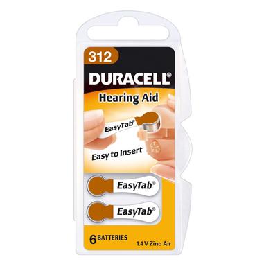 Duracell Hearing Aid DA312 Single-use battery 1,4 V