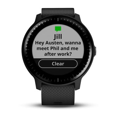 Garmin vívoactive 3 Touch screen Bluetooth 240 x 240Pixel Nero orologio sportivo