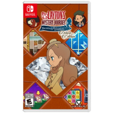 Layton's Mistery Journey: Katrielle and the Millionaires' Conspiracy Deluxe, Switch