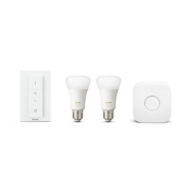 Philips Hue White and Color Ambiance Starter Kit soluzione di illuminazione intelligente Smart lighting kit Bianco Bluetooth 18 W