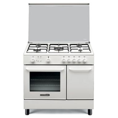 Bertazzoni La Germania SP94241W Libera installazione Combi hob Bianco cucina