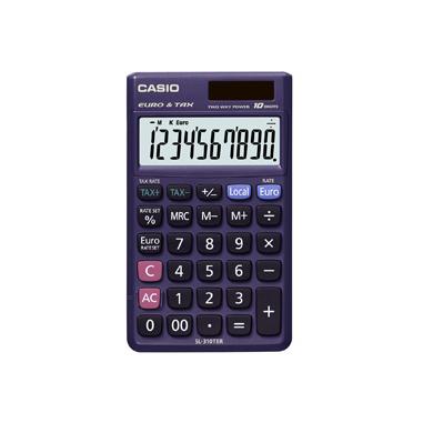 Casio SL-310TER Scrivania Calcolatrice di base Porpora calcolatrice
