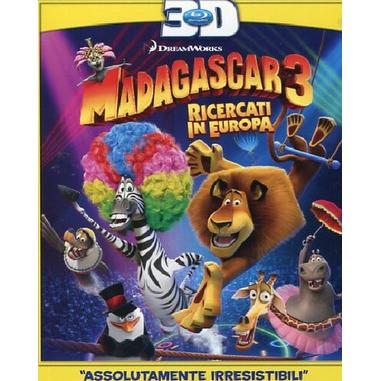 Madagascar 3. Ricercati in Europa 3D (2012), (Blu-ray)