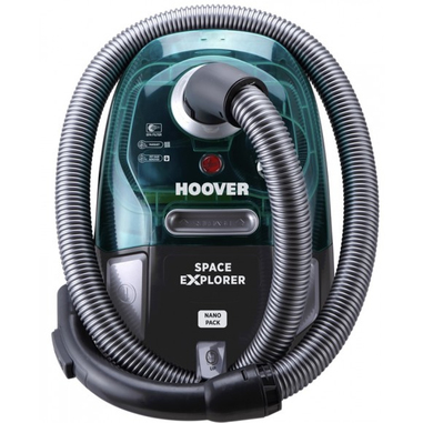 hoover space explorer 2l 700w a verde grigio aspirapolvere senza sacco in offerta su unieuro. Black Bedroom Furniture Sets. Home Design Ideas